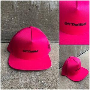 Vans Hot Pink Distort Hat